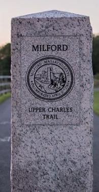 Upper Charles Trail Marker