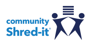 Community Shred-It Logo